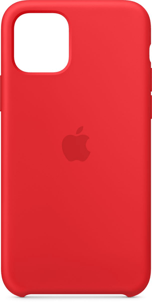 iPhone 11 Pro Max Silikon  Case Rot