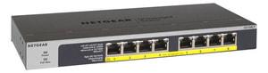 GS108LP-100EUS 8 Port Gigabit Unmanaged PoE/PoE+ Netzwerk Switch