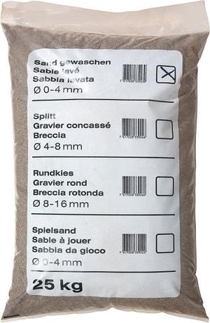 Sabbia lavata, 25 kg -  di 40 pezzi