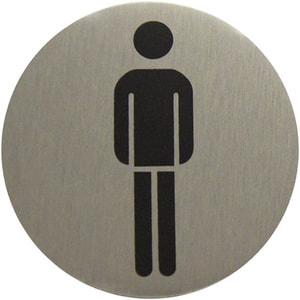 Plaque WC hommes