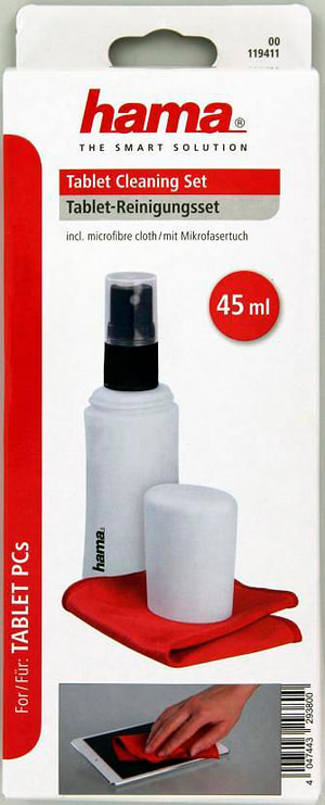 pastiglia detergente 45 ml con panno in microfibra