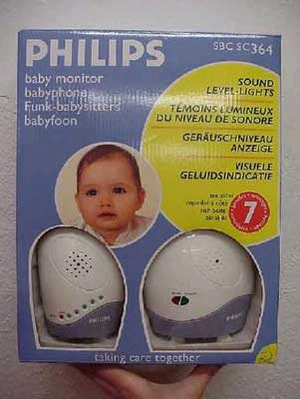 09/07 PHILIPS BABY MONITOR