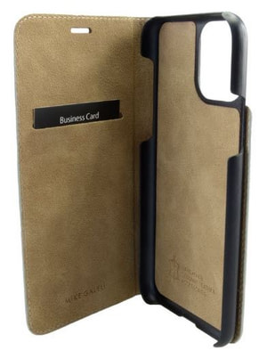 Book-Cover iPhone 11 grau