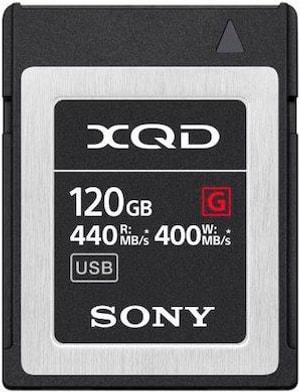 XQD Card 120GB QDG120F 440MB/s