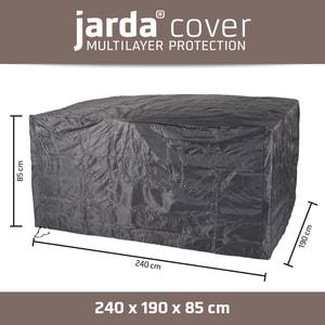 Housse de protection rectangulaire 240x190x85