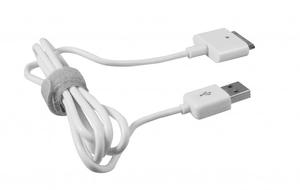 Charge & Sync 30pin 1m blanc