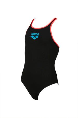 Girls Big Logo Swim Pro Back One Piece