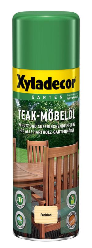 Huile pour meubles en teck incolore Incolore 500 ml
