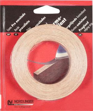 Chant bois véritable thermo-collant 5 m, bois hêtre