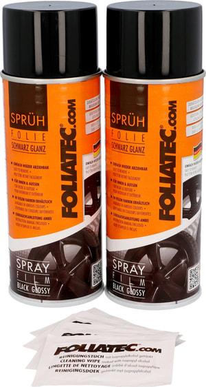 Film spray noir brillant 400 ml 2 Stk