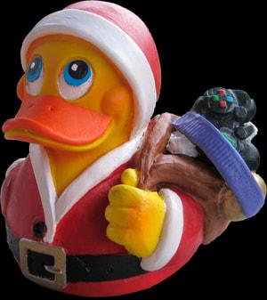Dekoente Weihnachtsmann