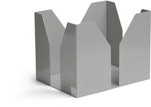 Altpapierständer Weissaluminium