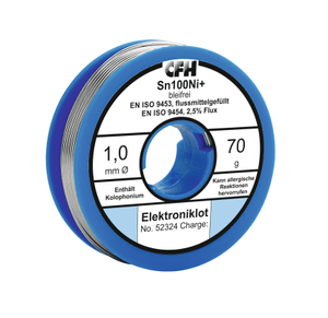 Elektroniklot EL 324, bleifrei, 70g