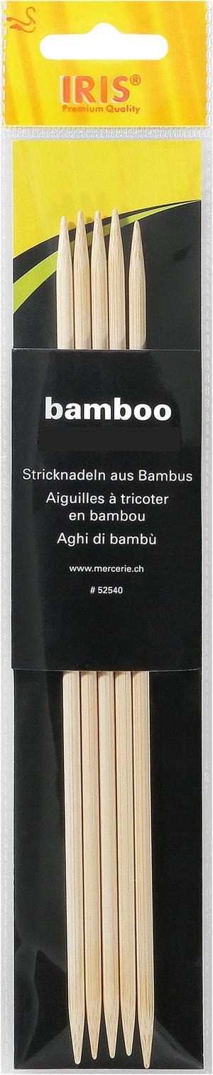 Bambu ferri a doppia 20cm - 8.0mm