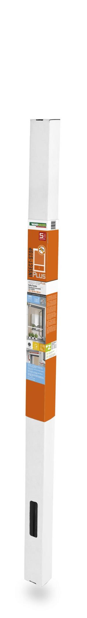 Insektenschutz Rollo Fenster 100x160cm anthrazit