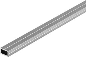 Vierkantrohr 7.5 x 12.5 blank 1m