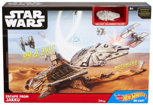 Hot Wheels Star Wars Episode VII Raumschiff-Spielset