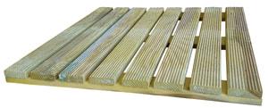 Holzrost Kiefer druckimprägniert 50 x 50 cm