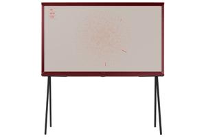 QE-43LS01R Burgundy Red Serif TV
