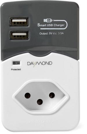 Fiche de dérivatavec port USB de ch
