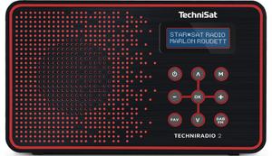 TechniRadio 2 - Nero/Rosso