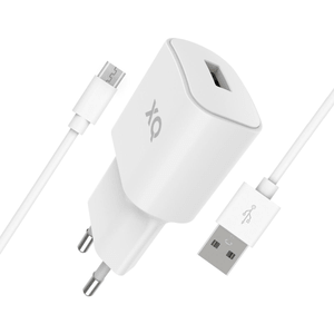 Travel Charger 2.4A Single USB EU- Micro US