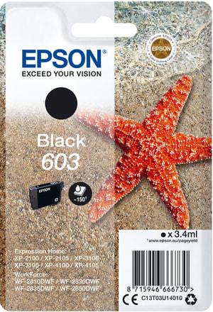 cartouche d'encre 603 noir