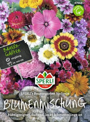 Einjährige Blumenmischung Bauerngarten Sinfonie