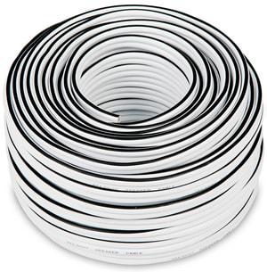 C4530S 2x4mm² Lautsprecherkabel 30m - Weiss