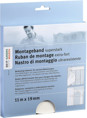 Montageband superstark
