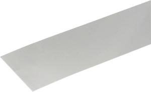 Lamiera liscia 0.8 x 120 mm naturale 1 m