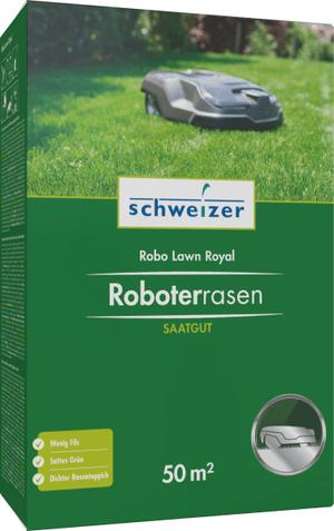 Tappeteo verde robot, 50 m2