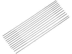 Laubsägeblätter für Holz Nr. 5, allseitig Comfort