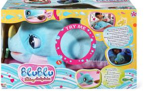 BluBlu der Baby-Delfin
