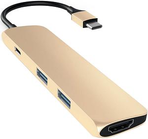 USB-C Slim Aluminium Multiport Adapter