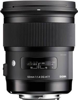 50mm f/1.4 DG HSM Art pour Nikon