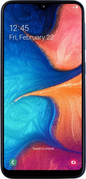 Galaxy A20e Blue