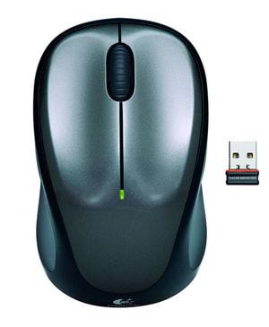 M235 Wireless Maus schwarz/silber
