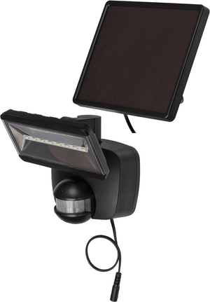 Solar LED-Strahler SOL 800 schwarz