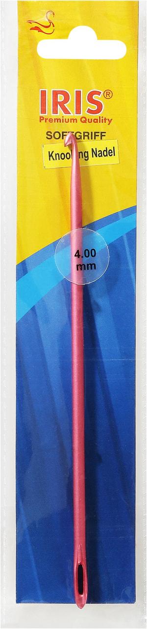 Iris Aluminium Knook g Nadel, 4.00mm