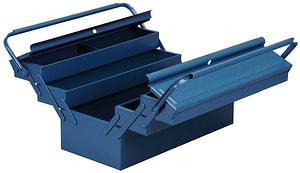Boîtes à outils, en tôle d'acier