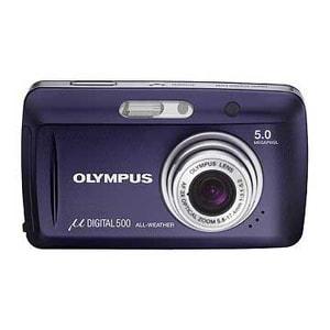 OLYMPUS MJU 500 NAVY BLUE