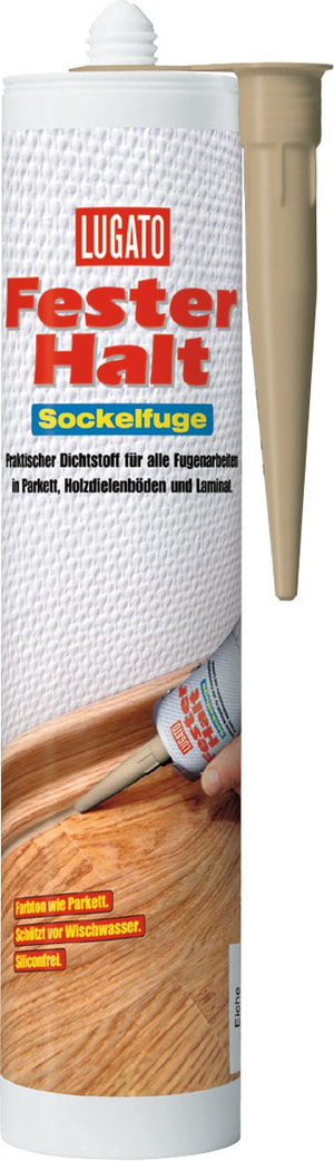 Sockelfuge eiche 310 ml