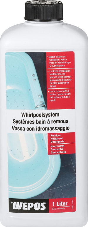 Whirlpoolsystem Reiniger Konzentrat