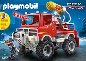 Playmobil 9466 4x4 de pompier