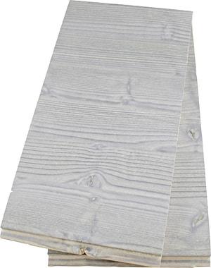 Gebürstete Holzverkleidung grau 2 Stk.