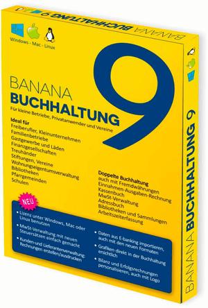 Banana PC/Mac - Banana Accounting 9