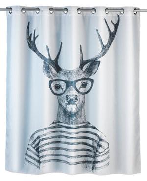 Rideau de douche Mr. Deer Flex anti-moisissure