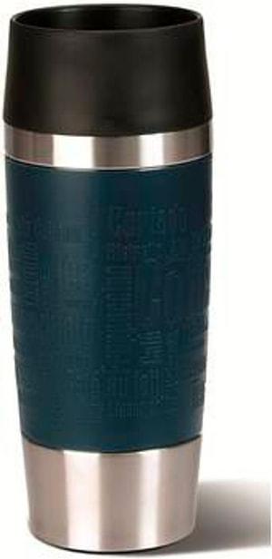Travel Mug 0.36 l, Silber Blau