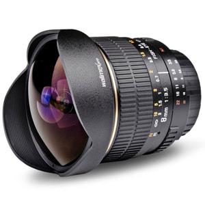Walimex Pro - 8mm f/3,5 Fisheye AE Objectif pour Nikon